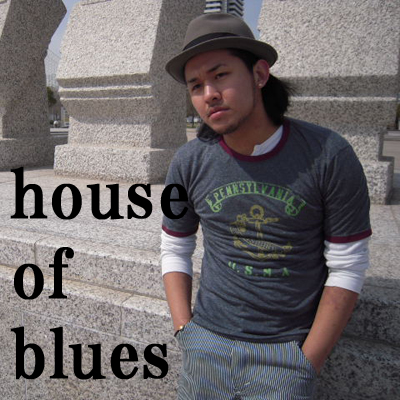 house of blues・・・デザインTeeシャツ